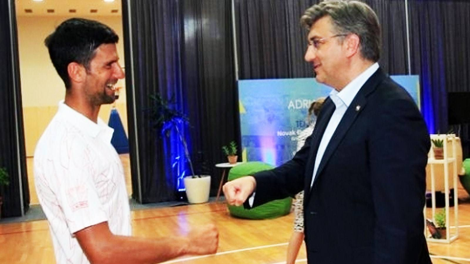 Why is Plenkovic still not in self-isolation? He literally touched Djokovic  - Index International